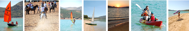 Iznajar Andalucia Spain Property Sales on the Lake and beach