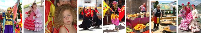 Iznajar Andalucia Spain Property Sales - Fiestas and flamenco